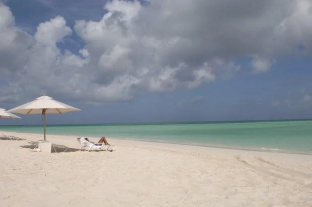 Turks and Caicos tropical island