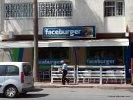 Faceburger, not to be confused with Facebook