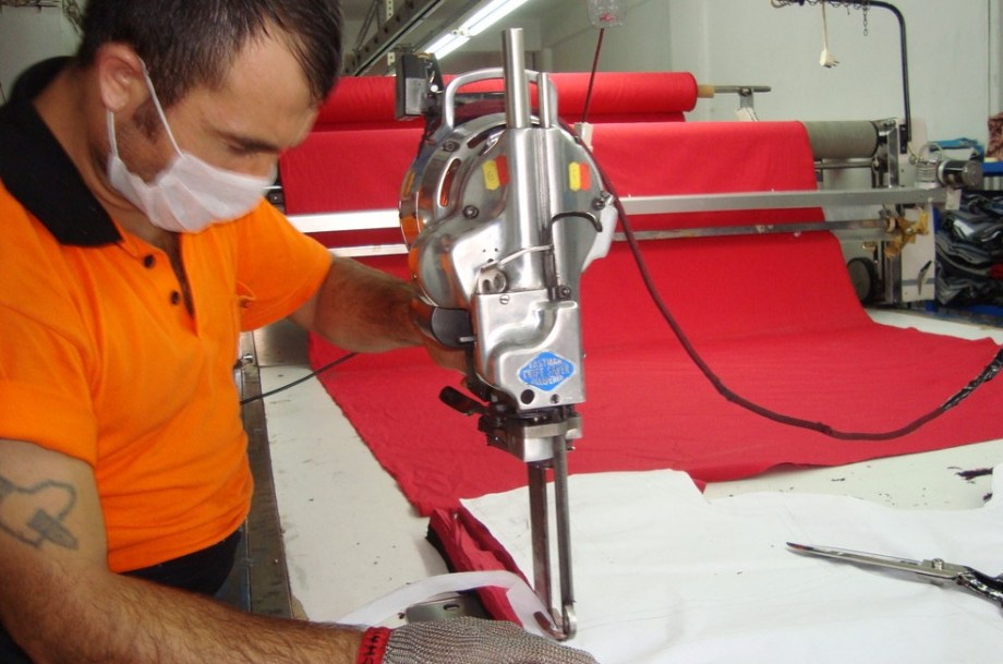 garments cutting