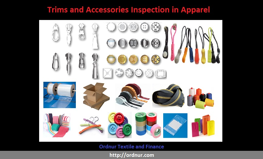 Trims And Accessories Inspection In Apparel Industry