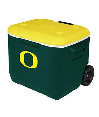 Coleman-Company-Oregon-Ducks-University-of-Oregon-Performance-Cooler-60-quart-GreenYellow-0