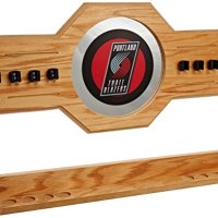 NBA-Portland-Trail-Blazers-Billiard-Cue-Rack-with-Mirror-0
