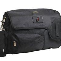 NBA-Portland-Trail-Blazers-Travel-Messenger-Bag-15-Inch-Black-0