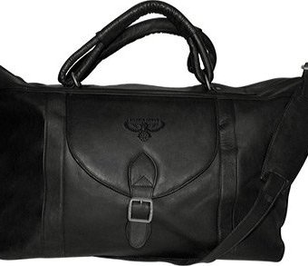 NBA-Tan-Leather-Top-Zip-Travel-Bag-0