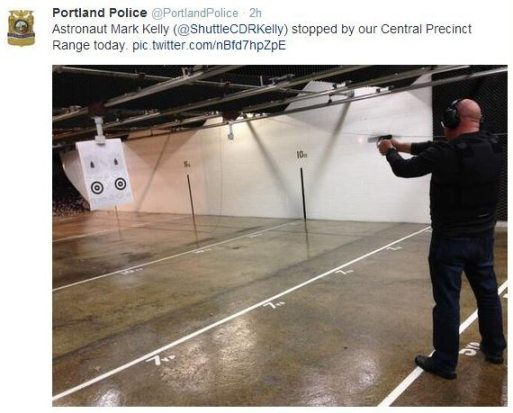 Portland Police Bureau tweet - Feb 6, 2014 1:32 PM