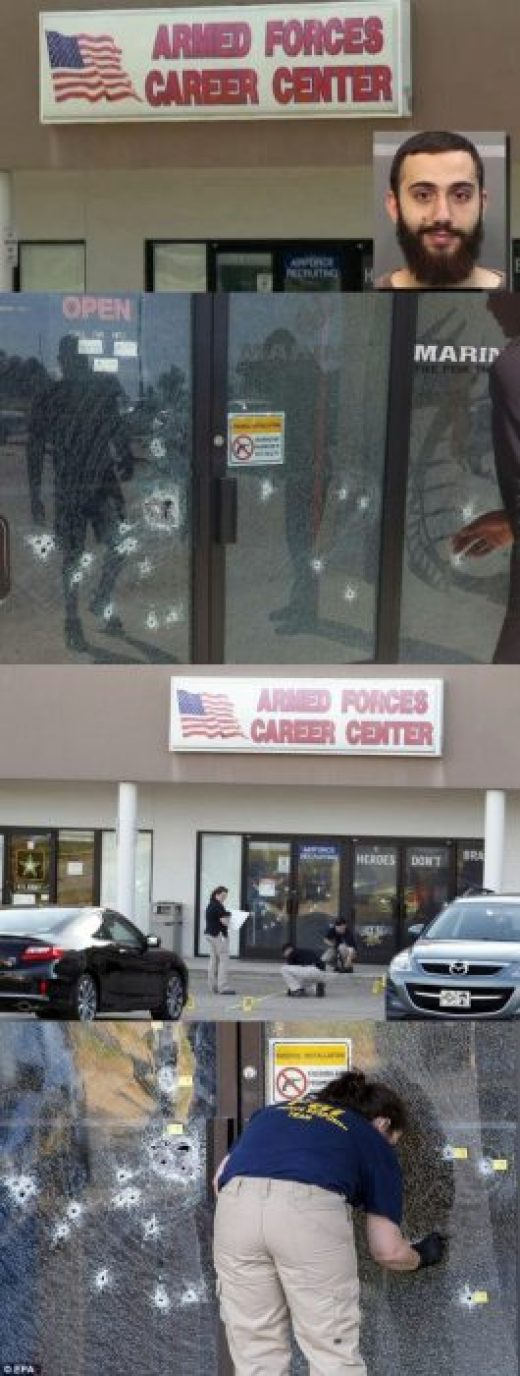 Unarmed Armed Forces in Chattanooga, Tennessee
