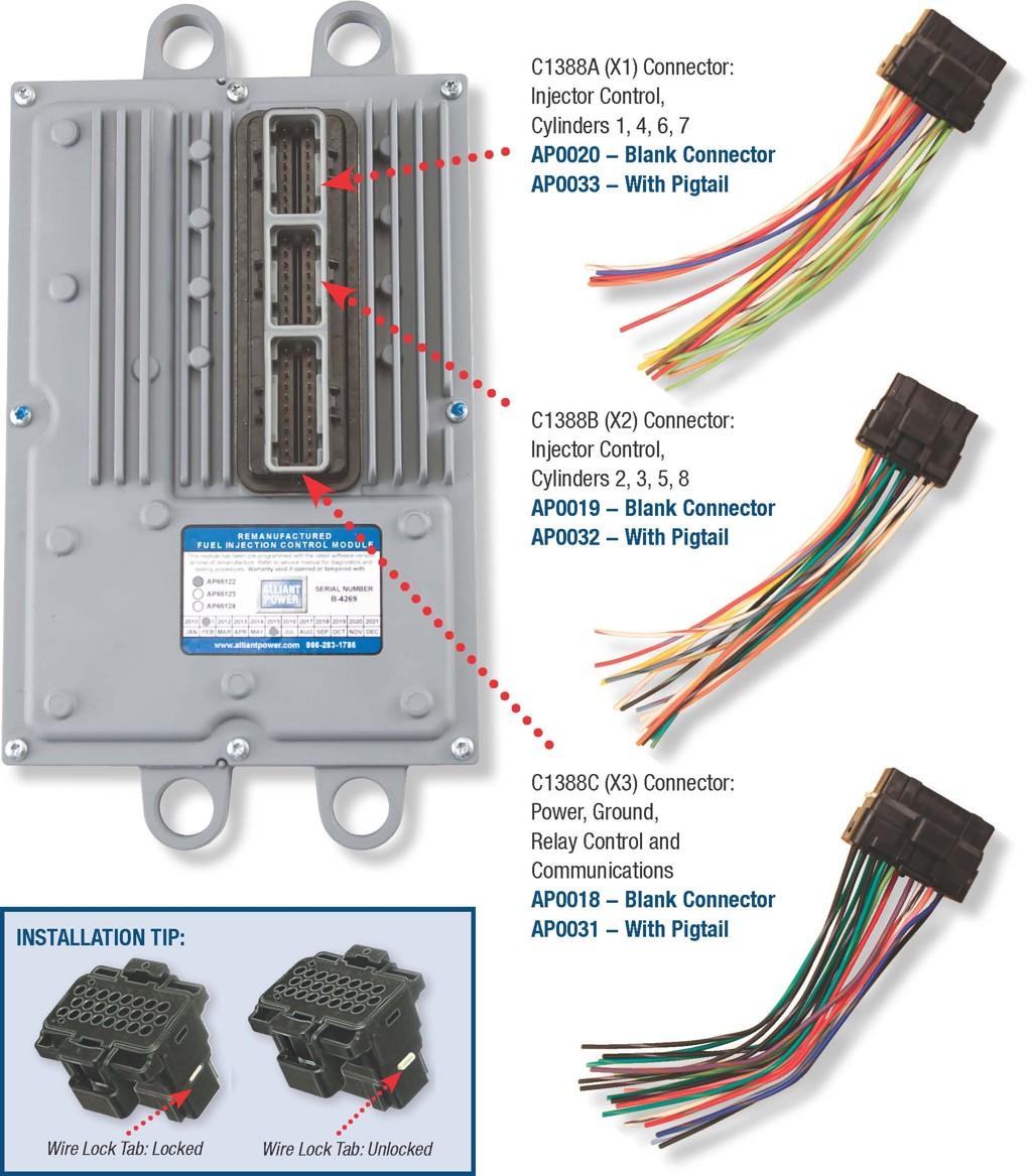glow plug 6 0 wire harness system