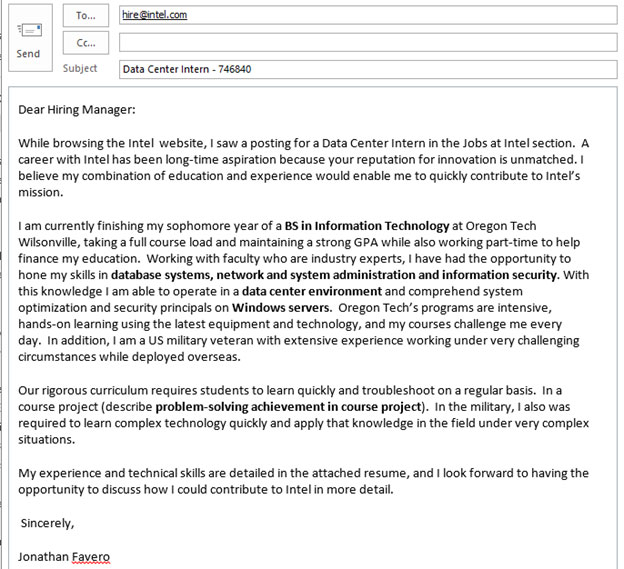 Cover Letter Templates » how to write a cover letter for an