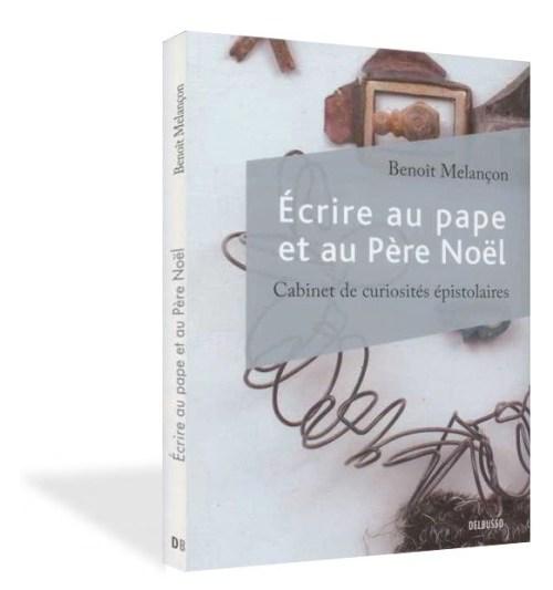 Écrire au pape et au Père Noël, 2011, couverture