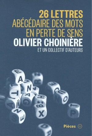 26 lettres, Montréal, 2014, couverture