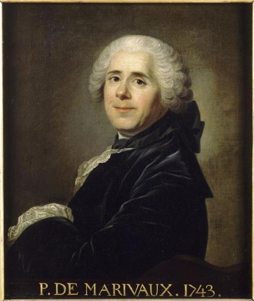 Portrait de Marivaux, 1743