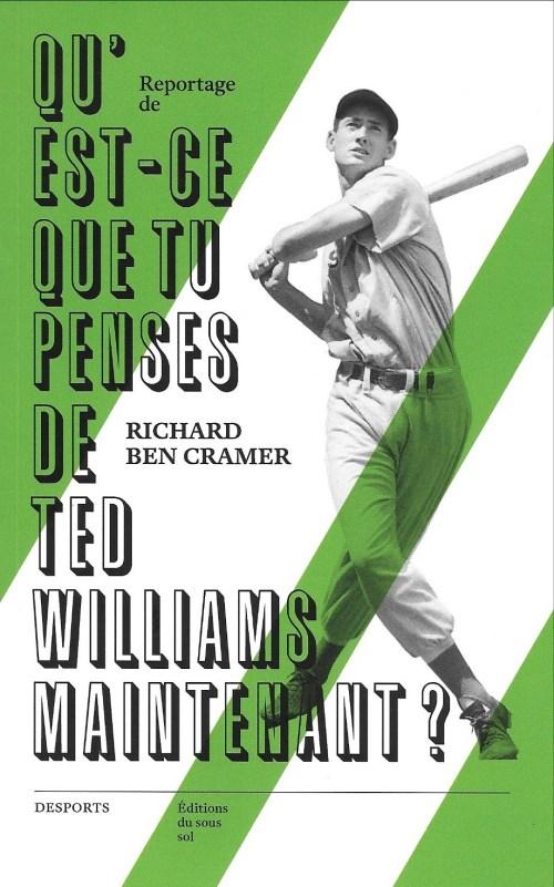 Qu'est-ce que tu penses de Ted Williams maintenant ?, 2015, couverture