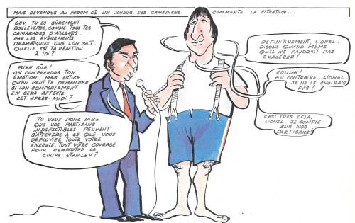 Arsène et Girerd, On a volé la coupe Stanley, p. 13