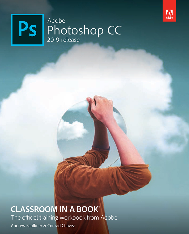 Learning Photoshop Cover Page Adobe Photoshop Cc Classroom In A Book 2019 Release