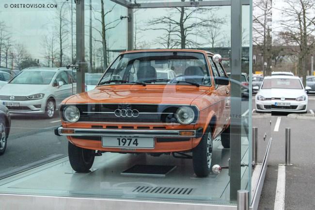 Audi 50 1974