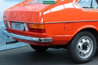 Detalhe da traseira do Passat 1973 exposto no AutoMuseum