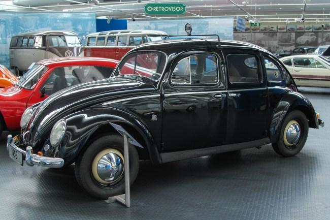 O 4 portas nunca foi feito oficialmente pela VW
