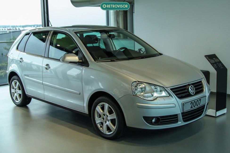 Talvez o modelo mais comum do museu: Um VW Polo 2007