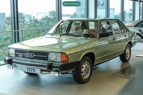 As linhas deste Audi 80 certamente inspiraram alguns carros nacionais nos anos 70/80