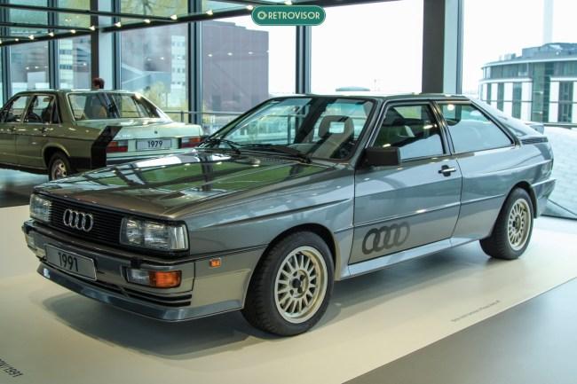 Audi Quattro 1991 - Pra mim um dos mais belos carros já produzidos