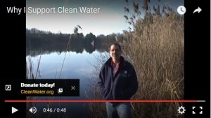 Watch the video to fnd out why Any supports Clean Water - and donate today!