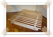 Australian hardwood Futon base