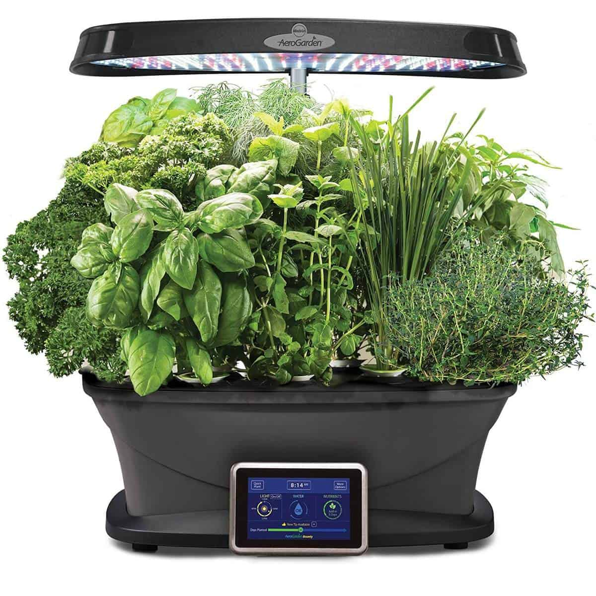 Home Herb Garden Kit Best Hydroponic Kits For Home Gardeners 2018 Update
