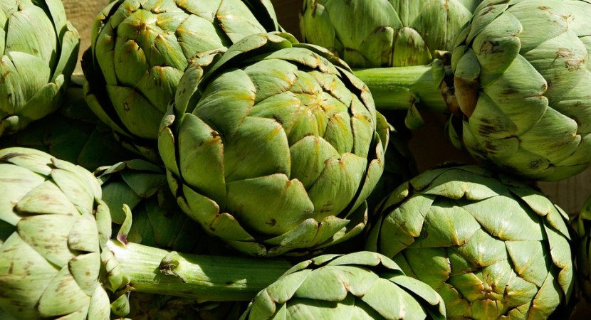 Stock Of Artichokes