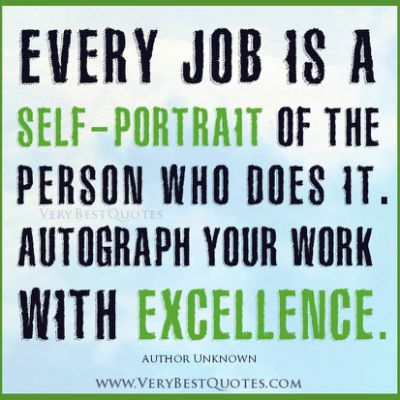 Five tips for working in excellence! organisedlady - work tips