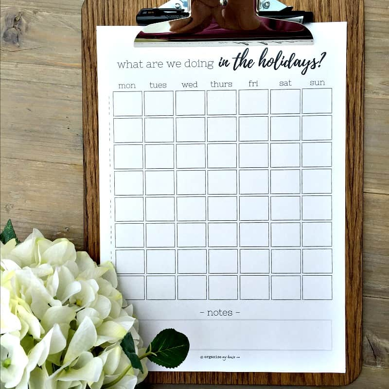 Easily track what\u0027s happening in the school summer holidays