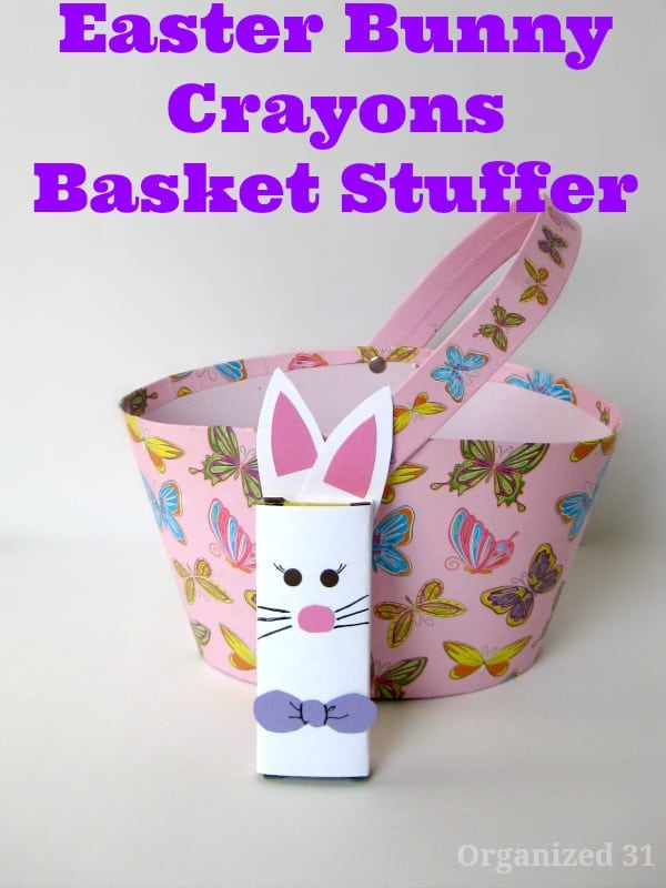 Easter Basket Stuffers - Organized 31