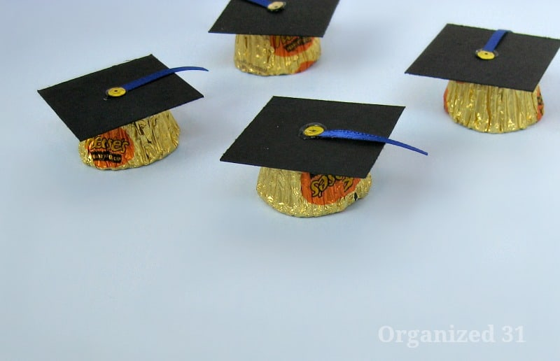 Candy Graduation Caps - Organized 31