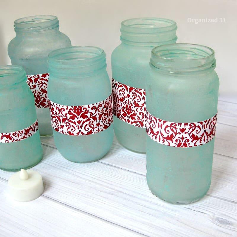 Upcycled Jar Party Lanterns - Organized 31