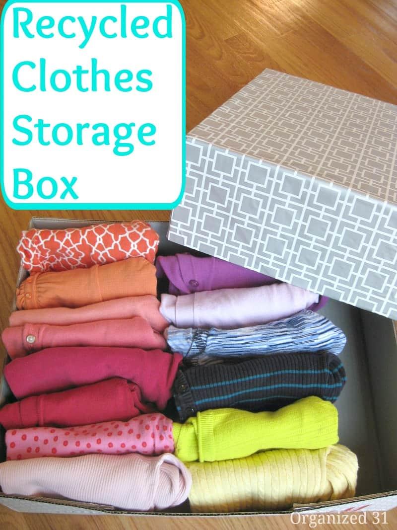 Best organizing ideas of 2014 organized 31 - Diy clothes storage ideas ...