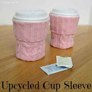 DIY Cup Sleeve - Organized 31