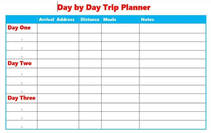 6 Reasons You Need a Trip Planner - Organized 31
