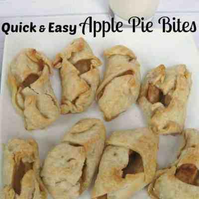 Quick and Easy Apple Pie Bites
