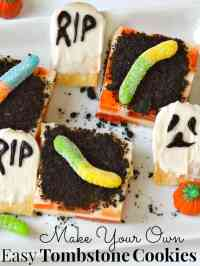 Make Your Own Easy Tombstone Cookies - Organized 31