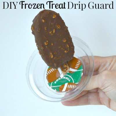 DIY Frozen Treat Drip Guard