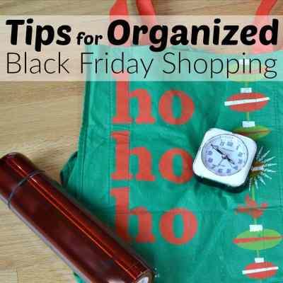Tips for Organized Black Friday Shopping