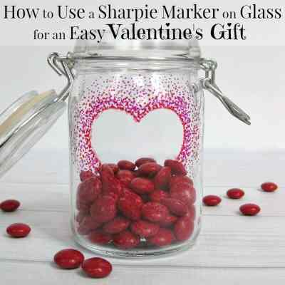 How to Use a Sharpie Marker on Glass