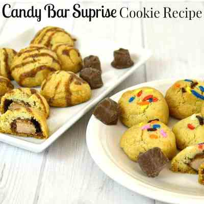 Candy Bar Cookie Recipe