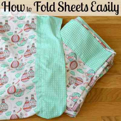 How to Fold Bed Sheets