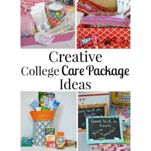 Medium Crop Of College Care Package Ideas