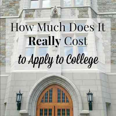 How Much Does It Cost to Apply to College