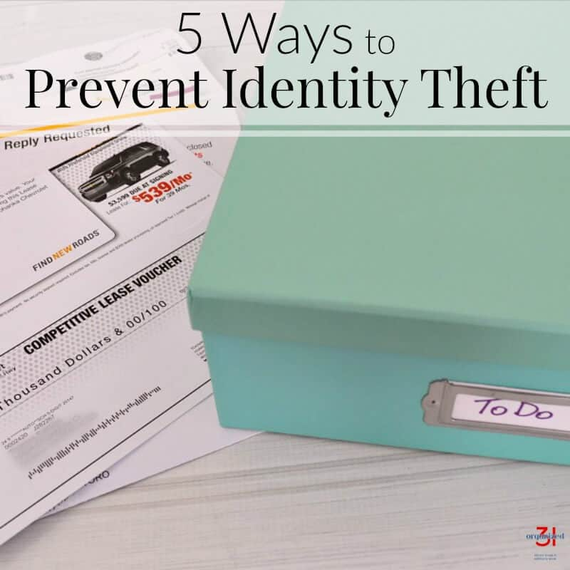 5 Ways to Prevent Identity Theft and Get Organized - Organized 31 - sample commercial lease agreement template