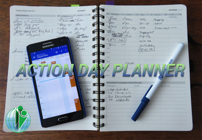 Action Day Planner Review My Choice for 2016-2017 - day planner
