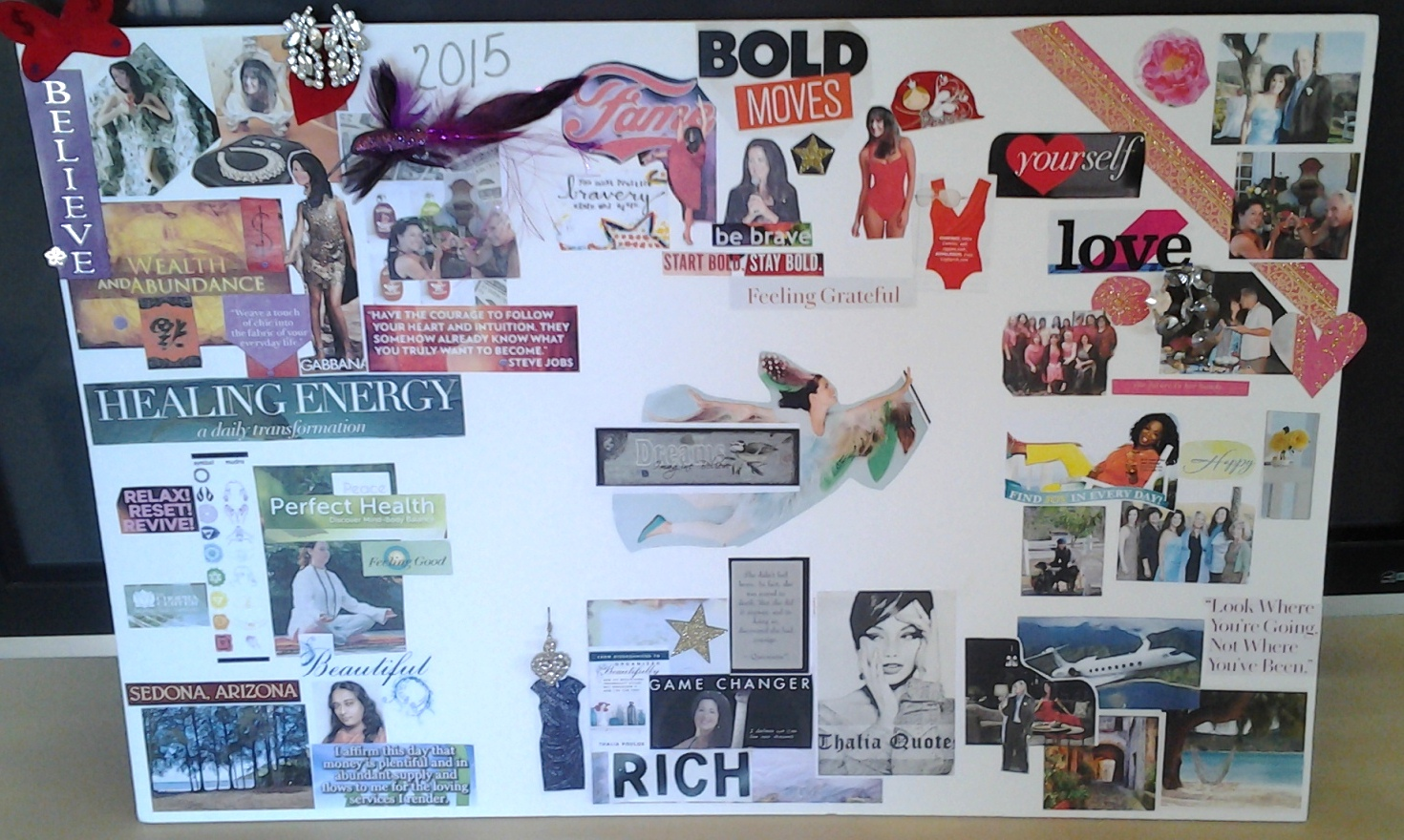 Feng Shui Bagua Vision Board Vision Boards Marvelous Reason To Re Purpose Organized