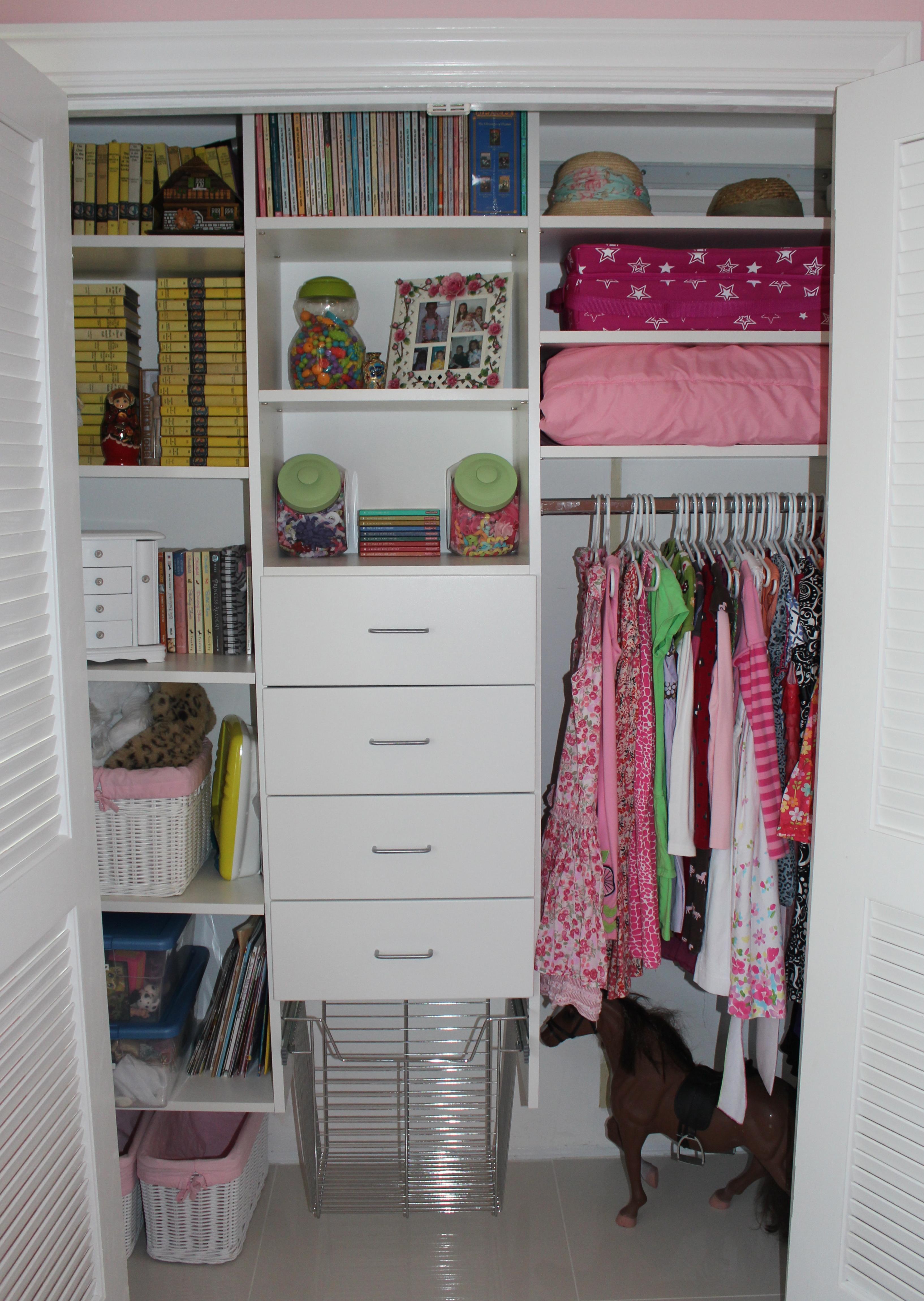Very small closet organization closet organization part 1