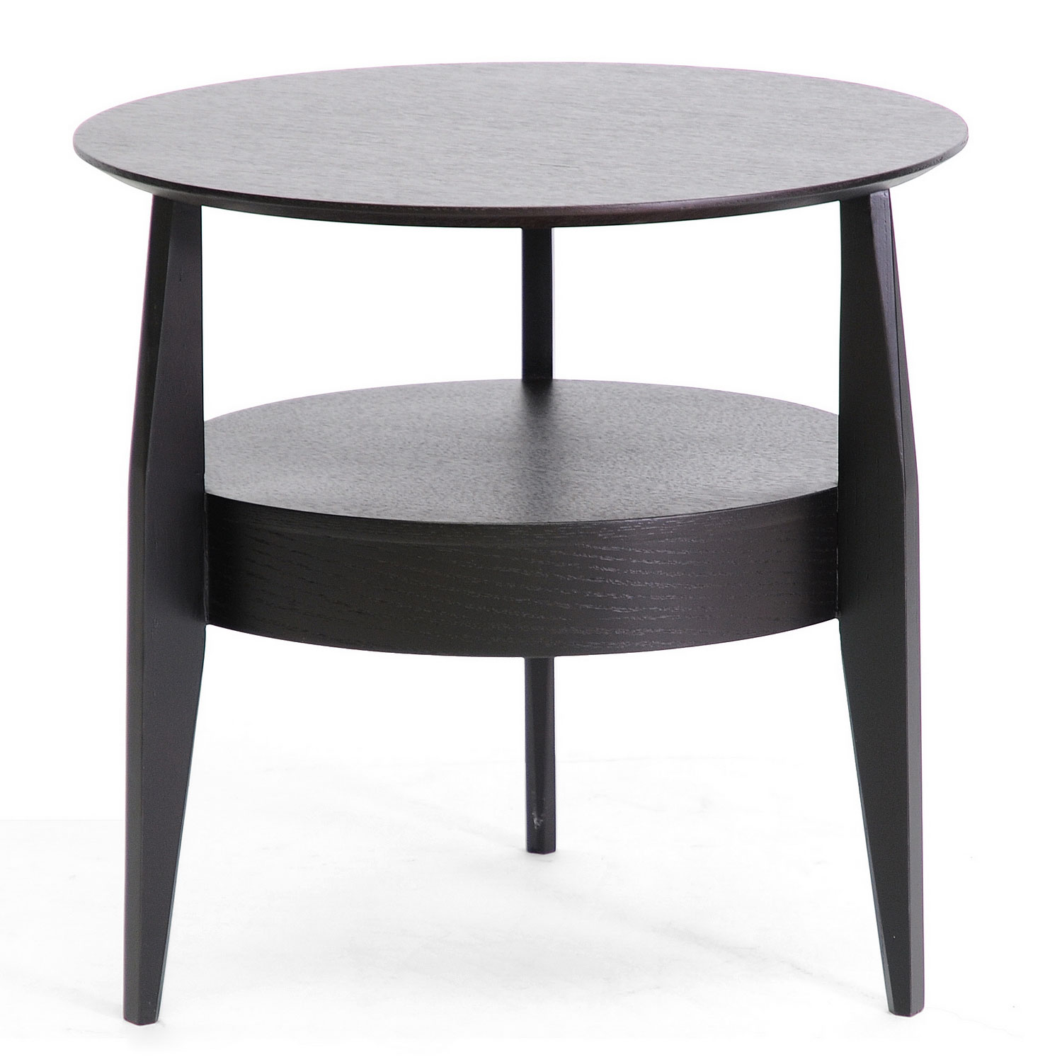 Black Modern Side Table Gretton Wood End Table With Drawer Black In Side Tables